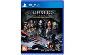 Injustice: Gods Among Us Ultimate Edition (русская версия) PS4