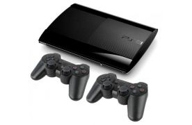 Sony Playstation 3 SUPER SLIM 500 Gb + доп. джойстик + HDMI кабель