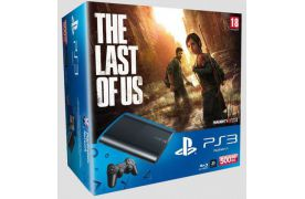 Sony Playstation 3 SUPER SLIM 500 Gb + Игра The Last of Us (Одни из Нас)