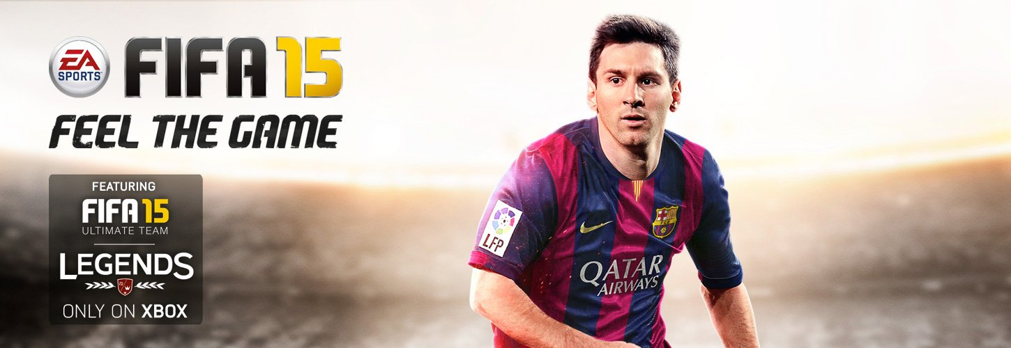 Xbox ONE FIFA 15 Feel the game