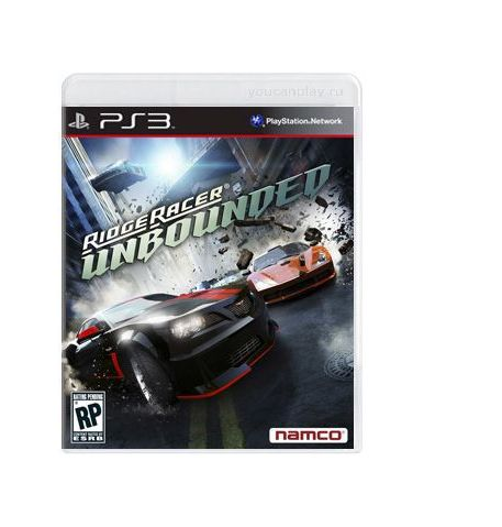 Фото №1 - Ridge Racer Unbounded Limited Edition PS3