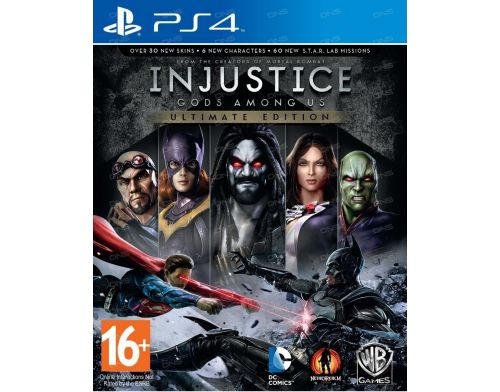 Фото №2 - Injustice: Gods Among Us Ultimate Edition PS4 русская версия