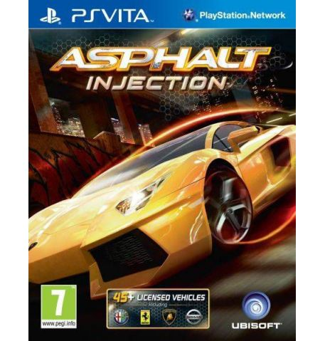 Фото №1 - Asphalt Injection PS Vita