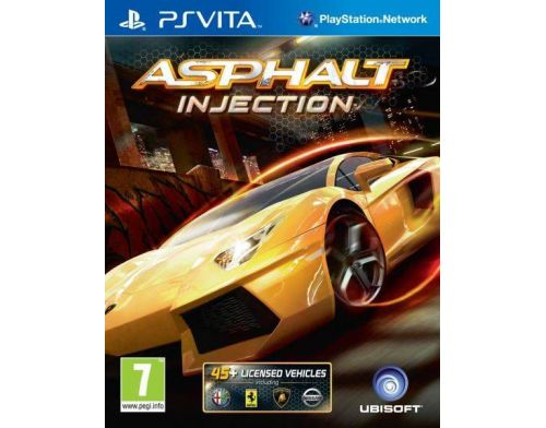 Фото №2 - Asphalt Injection PS Vita