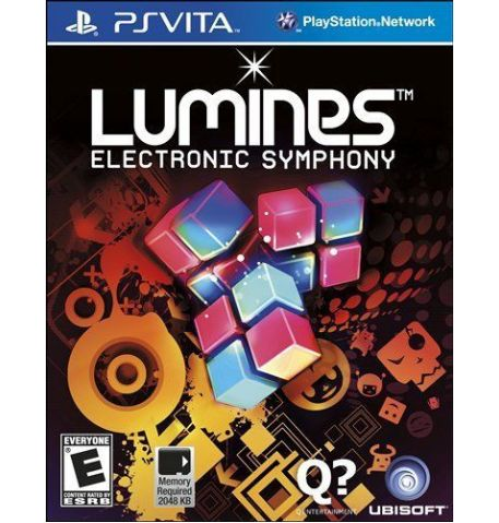 Фото №1 - Lumines: Electronic Symphony PS Vita