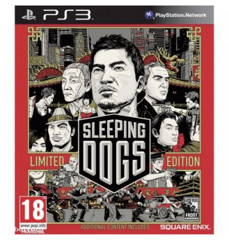 Фото №1 - Sleeping Dogs Limited Edition PS3