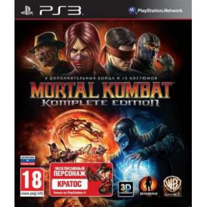 Mortal Kombat Komplete Edtion PS3 (б/у)