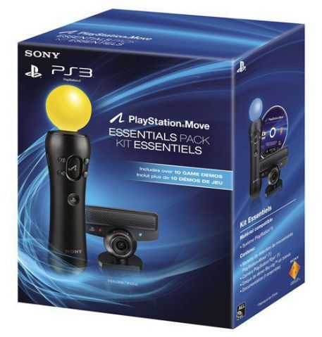 Фото №1 - PlayStation Move Starter Pack + Move Standalone Controller