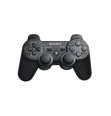 Фото №1 - Dualshock 3 Wireless Controller Черный для PS3 (Оригинал в пакете)