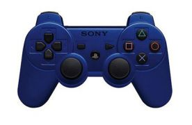 Dualshock 3 Blue Wireless Controller для PS3 (Original)