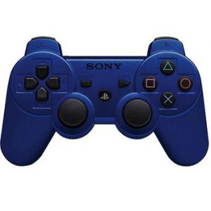 Dualshock 3 Blue Wireless Controller для PS3 REF (OEM)