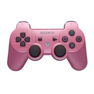 Dualshock 3 Wireless Controller Розовый для PS3 (Оригинал)