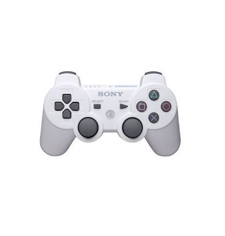 Фото №1 - Dualshock 3 Wireless Controller Белый для PS3 REF (OEM)