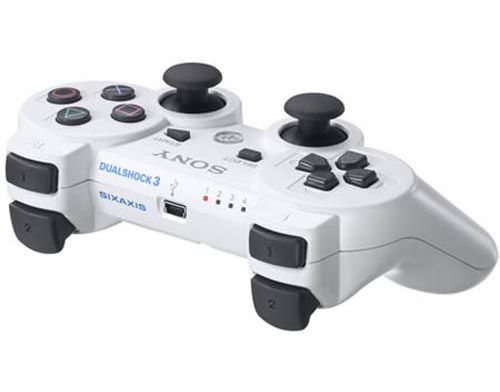Фото №4 - Dualshock 3 Wireless Controller Белый для PS3 REF (OEM)