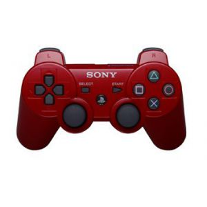 Dualshock 3 Red Wireless Controller для PS3 REF (OEM)