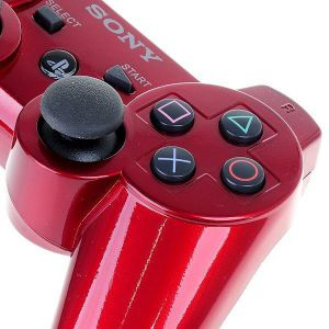 Dualshock 3 Red Wireless Controller для PS3 (Original)