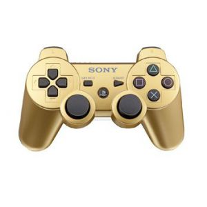 Dualshock 3 Gold Wireless Controller для PS3 (Original)