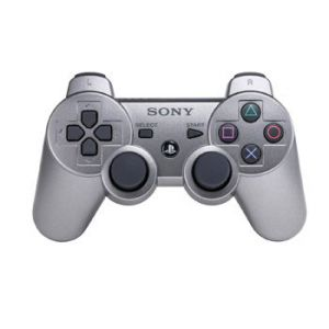 Dualshock 3 Metallic Silver Wireless Controller для PS3 (Original)