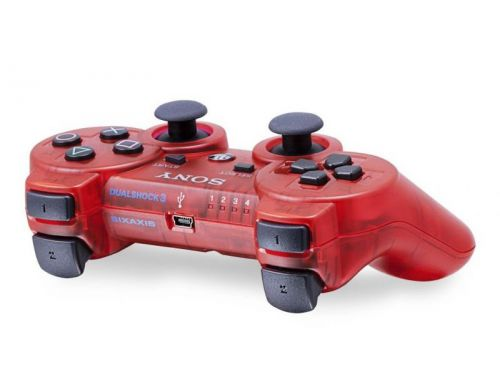 Фото №4 - Dualshock 3 Crimson Red Wireless Controller для PS3 (Original)
