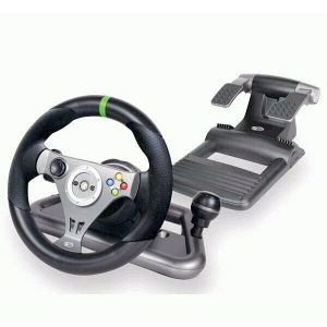 Microsoft Xbox 360 Wireless wheel MadCatz