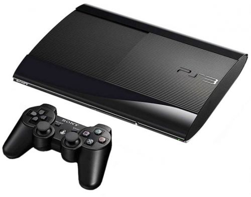 Фото №3 - Sony Playstation 3 SUPER SLIM 500 Gb + Игра Gran Turismo 6 + Игра The Last of Us