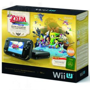 Nintendo Wii U 32Gb Черная Premium Pack + Игра The Legend of Zelda: Wind Waker HD