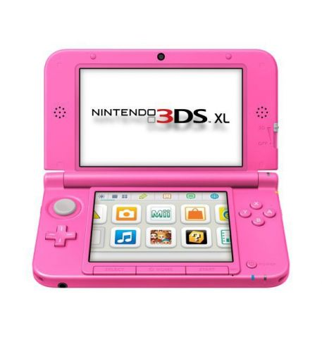 Nintendo 3DS XL Розовая