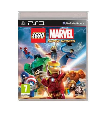 Фото №1 - LEGO Marvel Super Heroes PS3 Б/У