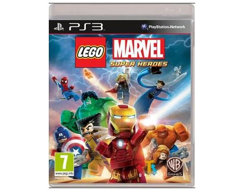 Фото №2 - LEGO Marvel Super Heroes PS3 Б/У