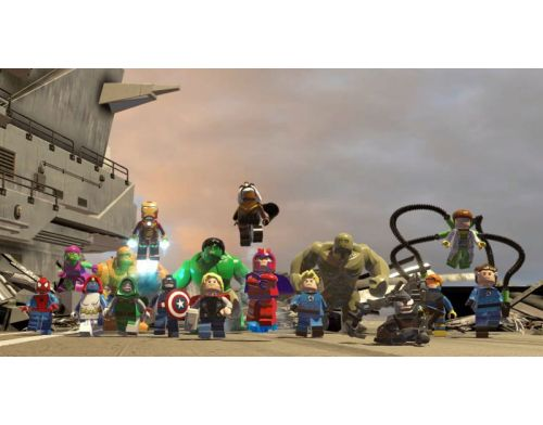 Фото №6 - LEGO Marvel Super Heroes PS3 Б/У