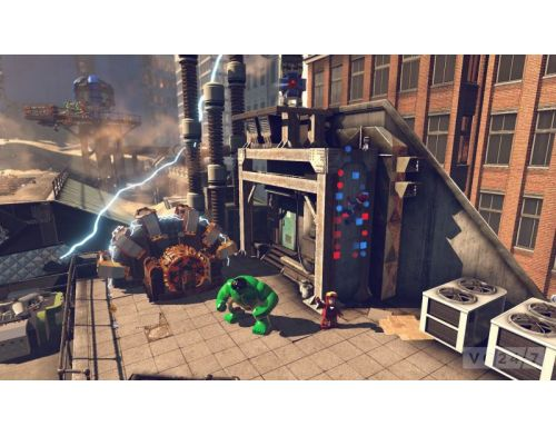 Фото №7 - LEGO Marvel Super Heroes PS3 Б/У