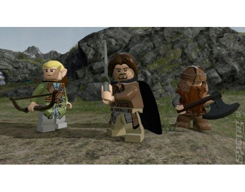 Фото №3 - LEGO Lord of the Ring (русские субтитры) PS3