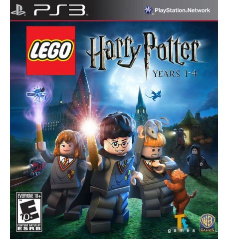 Фото №1 - Lego Harry Potter Years 1-4 PS3 русская версия Б/У