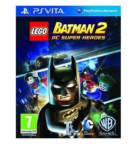 Фото №1 - LEGO Batman 2: DC Super Heroes PS Vita русские субтитры