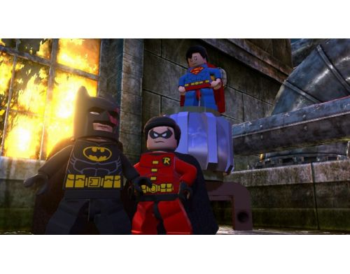Фото №5 - LEGO Batman 2: DC Super Heroes PS Vita русские субтитры