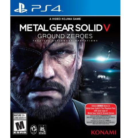 Фото №1 - Metal Gear Solid 5 Ground Zeroes PS4