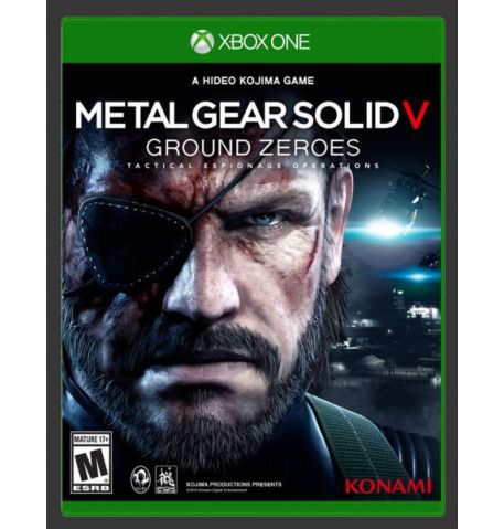 Фото №1 - Metal Gear Solid 5 Ground Zeroes XBOX ONE