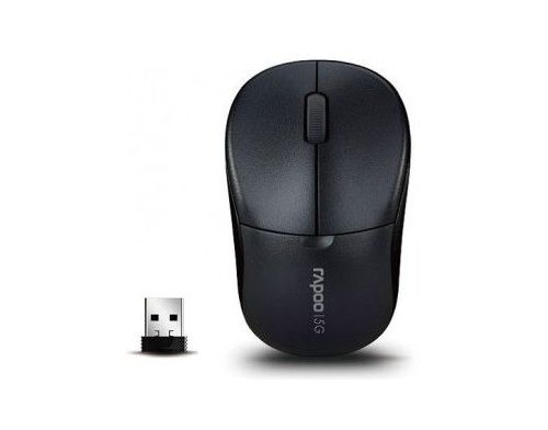 Фото №4 - RAPOO Wireless Optical Mouse gray (1090р)