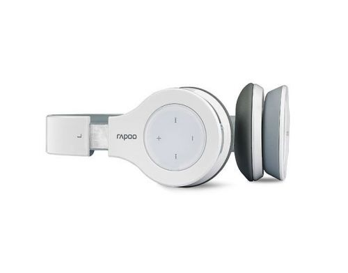 Фото №4 - RAPOO Bluetooth Stereo Headset white (H6060)