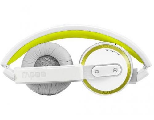 Фото №3 - RAPOO Bluetooth Foldable Headset yellow (H6080)