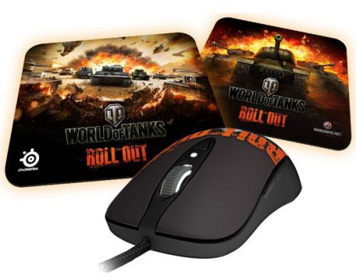 Фото №2 - SteelSeries World of Tanks Bundle (CУ-100У)