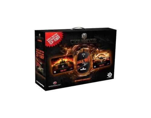 Фото №3 - SteelSeries World of Tanks Bundle (CУ-100У)