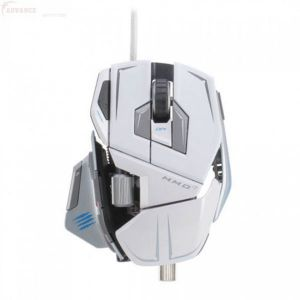 MadCatz M.M.O. 7 Gaming Mouse White