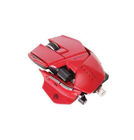 Фото №1 - MadCatz Cyborg R.A.T. 9 Gaming Mouse Red
