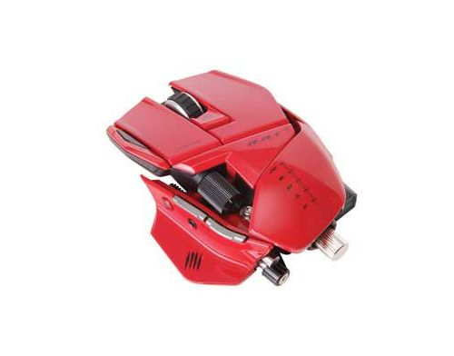 Фото №2 - MadCatz Cyborg R.A.T. 9 Gaming Mouse Red