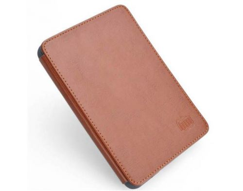 Фото №2 - Чехол MB Leather Cover Brown with LED light for Kindle 5/Kindle 4