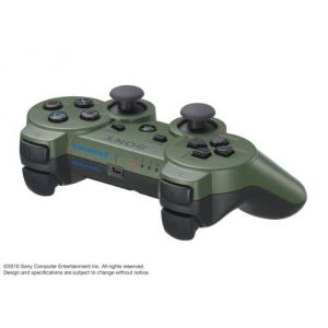 Dualshock 3 Wireless Controller Зеленый для PS3 (Оригинал)