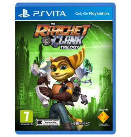 Ratchet & Clank Trilogy для PS Vita