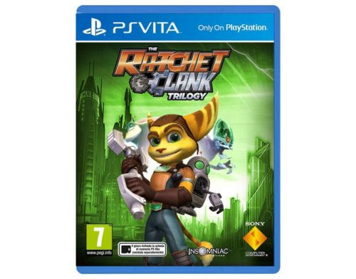 Фото №2 - Ratchet & Clank Trilogy PS Vita