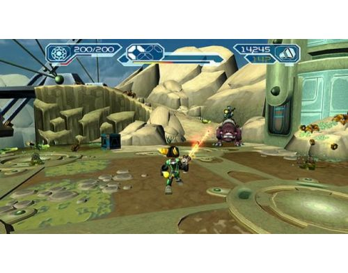 Фото №4 - Ratchet & Clank Trilogy PS Vita